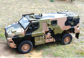 The Japanese Ministry of Defence has Ordered Four Bushmaster