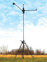GEROH - A Will-Burt Company - Introduces AntennaMast  AM2 - Man-Portable Aluminum Tripod Mast System