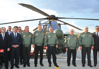 """Atak"" Helicopters in the Inventory of the TAF"