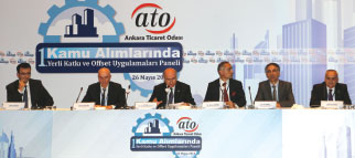 """""""Local Content in Public Procurement and Offset Panel"""" from ATO"""