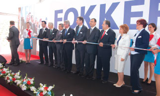 Fokker Opens its new Manufacturing Facility in Izmir