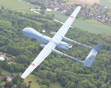 Harfang MALE UAS Controlled Successfully from a French Air Force Base Almost 5,000 km Away