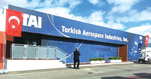 TAI Draws Accolades at Farnborough International Air show 2014