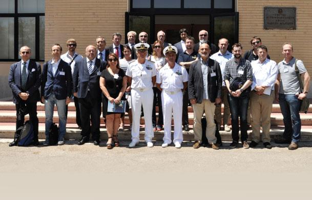 Defence Turkey Visited Maricenprog, Italian Programming Center in Taranto