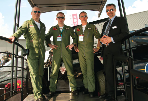 """RAF Pilots """"Eye View"""" from the HAWK Jet Trainer Aircraft"""