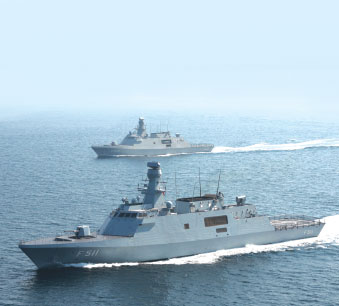 Combat System of MILGEM 3 and 4 to be Procured by Aselsan and Havelsan