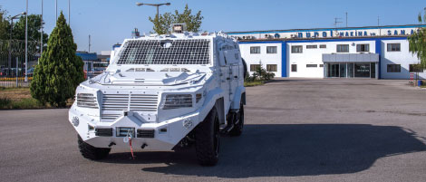 ILGAZ 4x4 Internal Security Vehicle