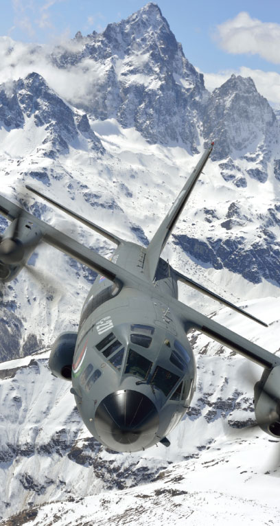 Alenia Aermacchi has Signed a Contract with the Slovak Defence Ministry  for two C-27J Spartan Aircraft