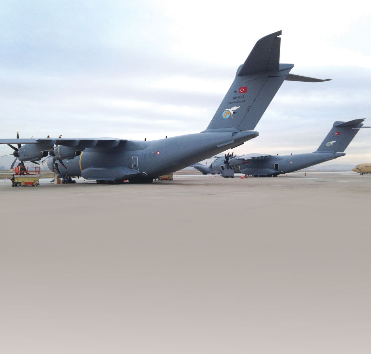Second A400M was Delivered to TurAF