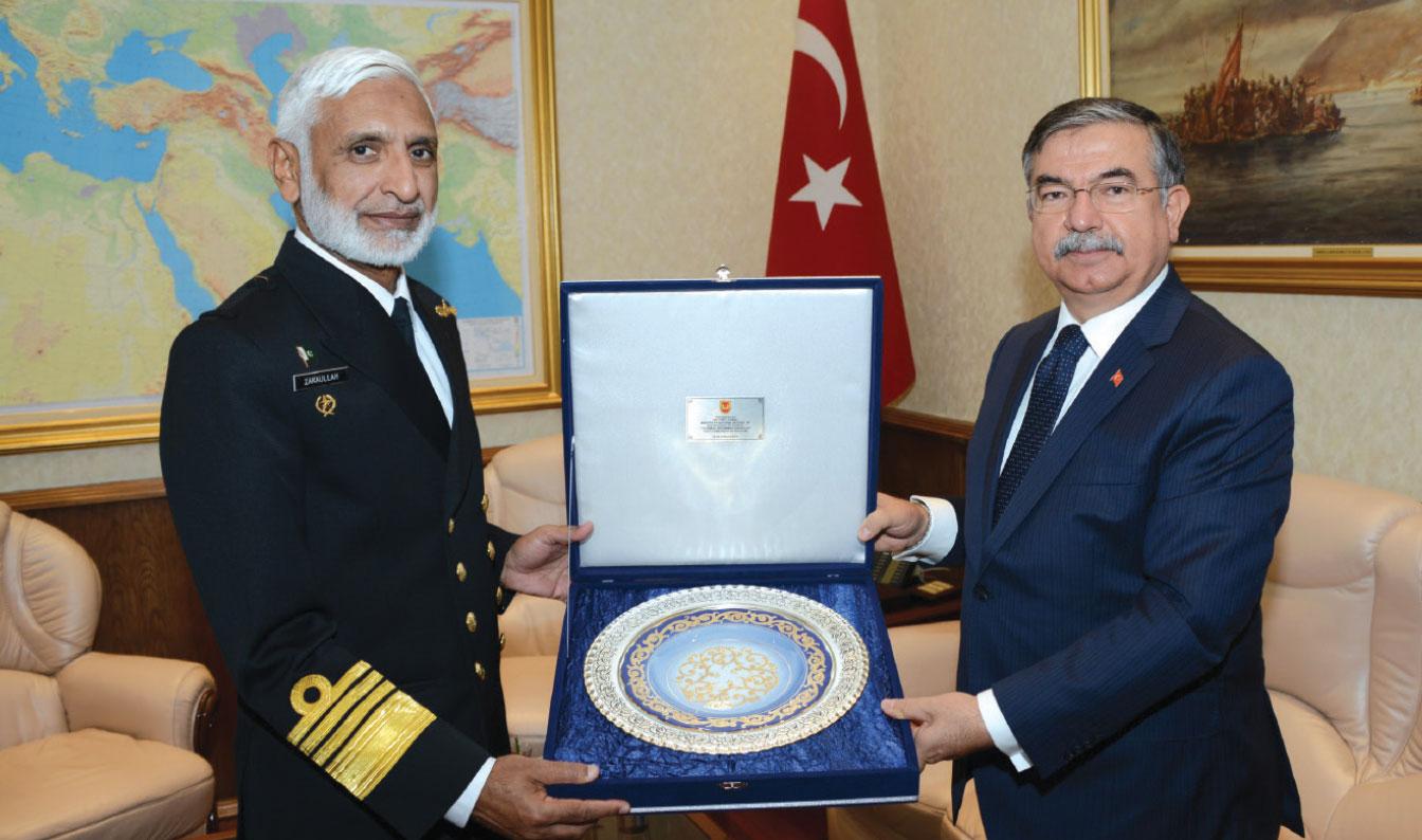 Chief of Naval Staff of Pakistan Visited Turkey