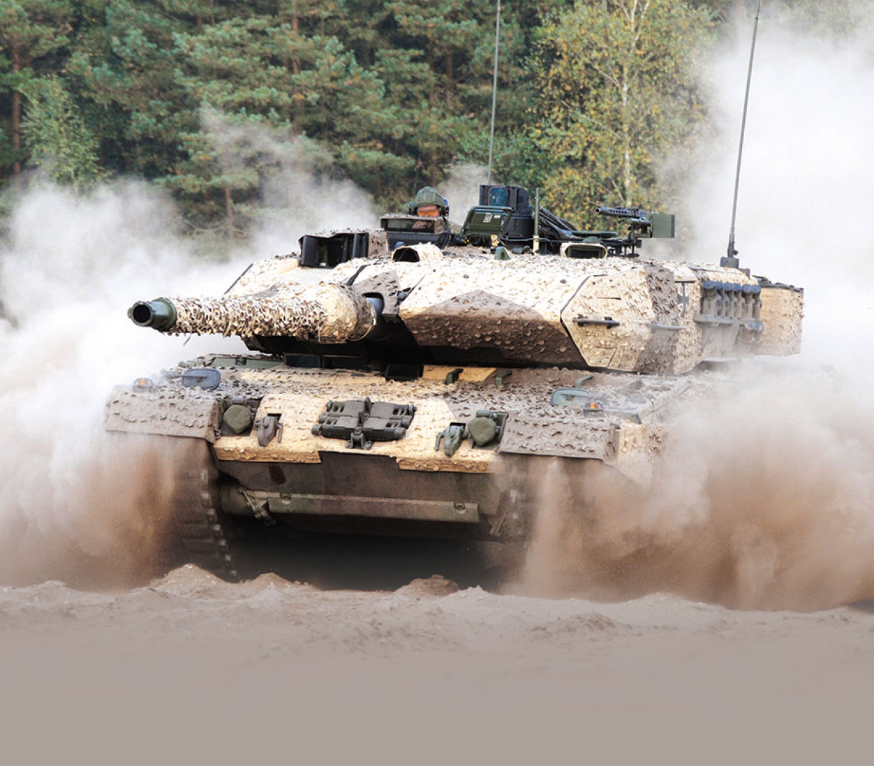 German Army Modernising Battle Tank    Fleet with Leopard 2A7