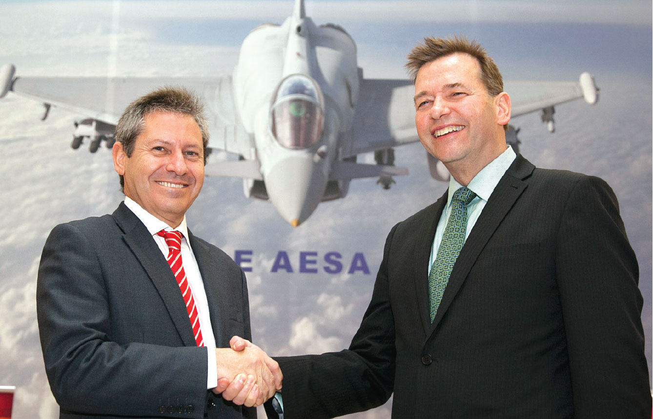 Eurofighter and NETMA Signed € 1 Bln Radar Contract