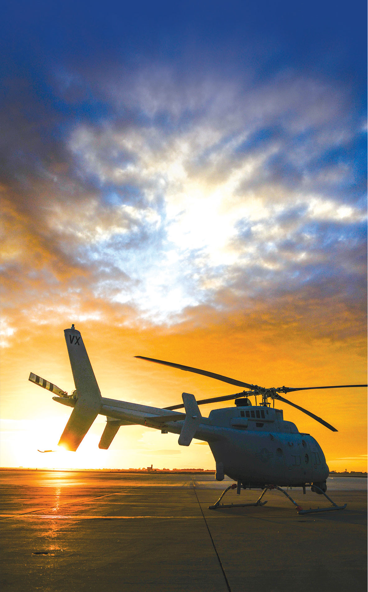 US Navy Receives First Operational MQ-8C Fire Scout
