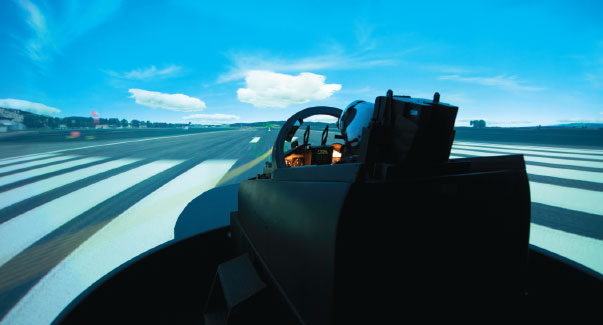 Simulator Training Center Reduced Flight Training Costs