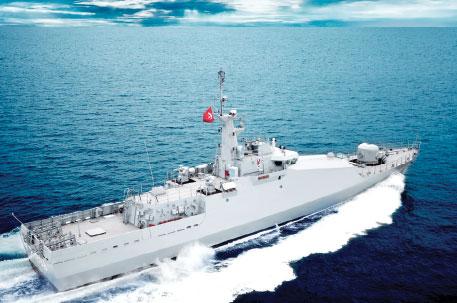 New Type Patrol Boat 'TCG-Kuşadası' in Inventory