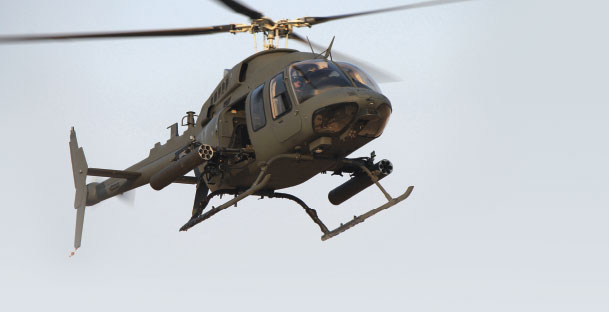 407 MRH Offers Air Superiority in Theatre