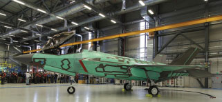 First-ever Italian F-35A 'Rolls Out' of Cameri Production Facility