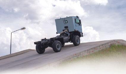 Nurol Makina Unveiled Ejder Kunter Armoured Truck in IDEF 2015