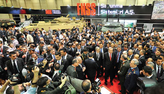 IDEF' 15 Gathers the Giants of Defence Industry
