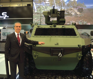 FNSS Showcases New Products at IDEF'15