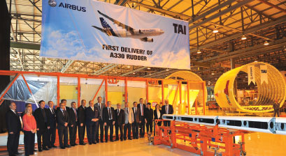 TAI: Airbus increases its Work Share in Aircraft Group