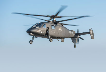 Sikorsky S-97 RAIDER Helicopter Achieves Successful First Flight