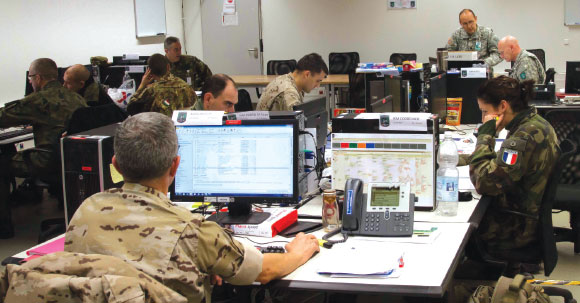 "LANDCOM Achieved Full Operational Capability in Exercise ""TRLE14"""