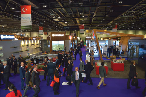 DSEI 2015: Turkey was Represented with 14 Defence Industry Companies