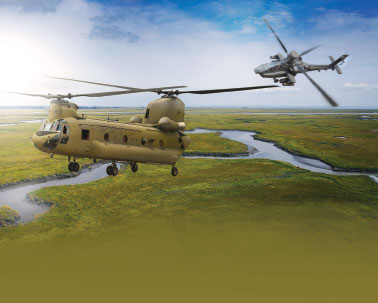 Boeing Receives Order from India for 22 Apache and 15 Chinook Helicopters