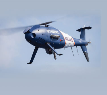 Camcopter S-100 Assisted In The Rescue of Over 8.800 Refugees In The Mediterranean