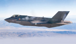 F-35A Lightning II Completes First Successful Aerial Gun Test