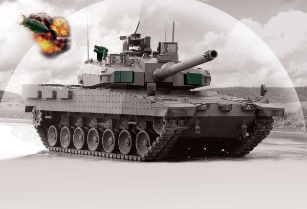 AKKOR Intercept Anti-Tank Missile