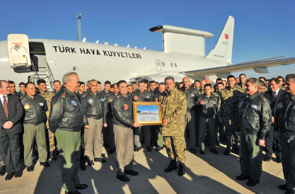 "Final Peace Eagle ""Batı"" AEW&C Aircraft Delivered to Turkish Air Force"