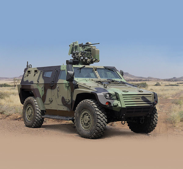 "Turkish Army Selected ""Cobra-II"" Armored Vehicles"