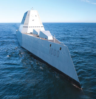 The Future Navy Vessel: Zumwalt Class Destroyer