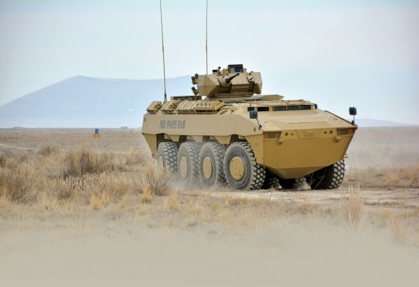 FNSS Awarded New Contract to Deliver Pars Wheeled Armored Vehicles