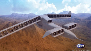 DARPA Announces VTOL X-Plane Phase 2 Design
