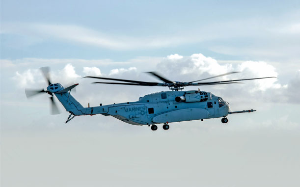 Second CH-53K Helicopter Joins Flight Test Program