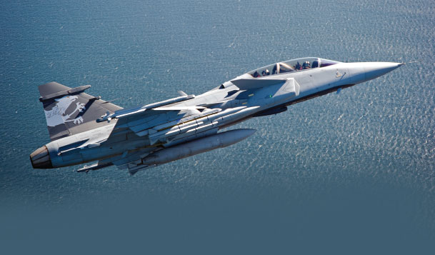Finmeccanica Announced Contracts to Provide IFF systems for Swedish and Brazilian Saab Gripen NG Aircraft