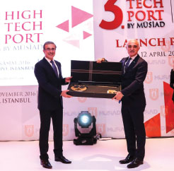3rd High-Tech Port by MUSIAD launched in Ankara