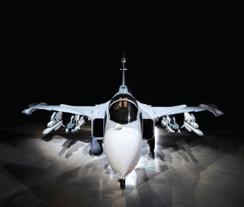 SAAB Rolls-out the First Gripen E