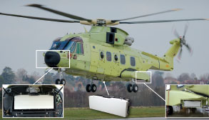 The world's first Lightweight Airborne Surveillance Radar, Providing a 360-degree Field of View with no Moving Parts