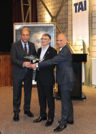 Prof. Aziz Sancar  Owner of the Nobel Prize in Chemistry Meets TAI Employees