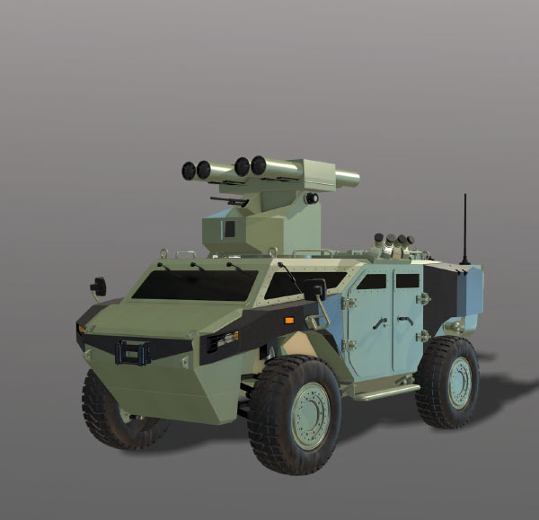 SSM and FNSS Signed the Contract for the Anti-Tank Vehicle Project