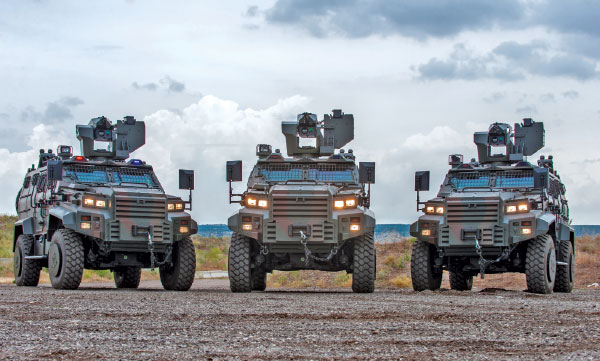 Nurol Makina Serves Security Forces Against Various Threats