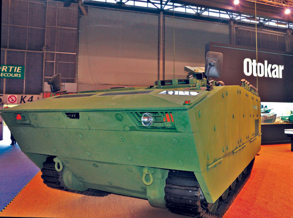 Tulpar-S APC was Demonstrated at Eurosatory