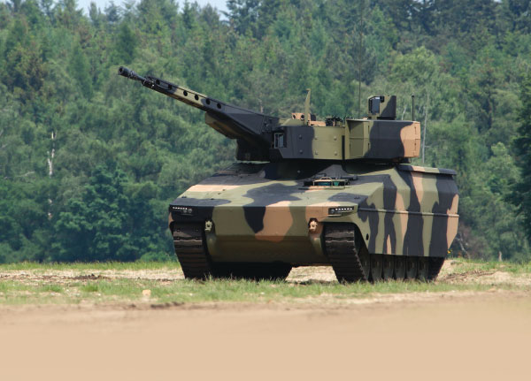 Rheinmetall Unveiled New Infantry Fighting Vehicle at Eurosatory
