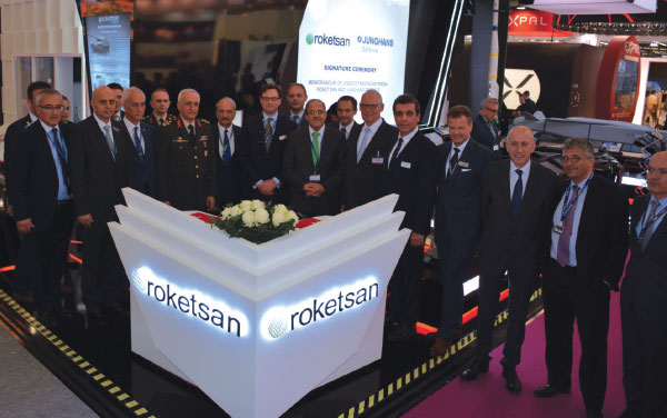 Junghans Defence and Roketsan Expand Partnership on Fuze Design and Production
