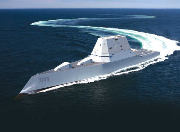 US Navy Accepts Delivery of Future USS Zumwalt