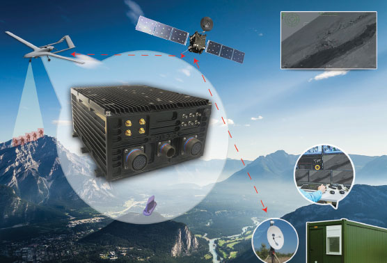 LOS & BLOS Secure and Robust Data Links for UAVs